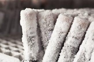 Frozen tubes