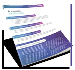 Automation Considerations PDF